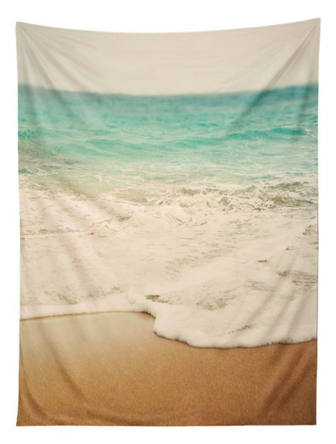 Deny Designs Bree Madden Ombre Beach Tapestry - Contemporary - Tapestries - by Deny Designs 824416045151