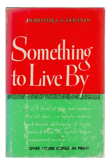 Decorative Book, Something to Live By - Traditional - Books - by Booth & Williams 566326118604