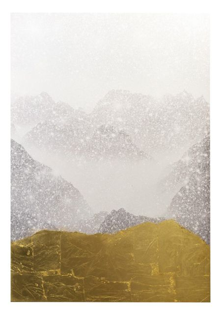 """Gold Mountain"" Canvas Art Print - Contemporary - Fine Art Prints - by The Oliver Gal Artist Co. 251514554225"