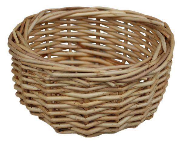 Mini Wicker Bowl - Traditional - Storage Baskets - by Red Hamper Ltd 011113617359